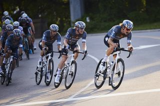 L39ION of Los Angeles in the criterium at USA Pro Road Championships 2021