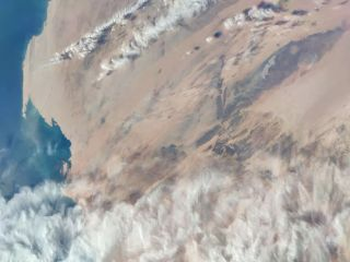 """The """"Eye of Africa"""" is visible near the top right of this image, which was taken by a camera based on the 108-megapixel camera in Xiaomi's M10 Pro smartphone."""