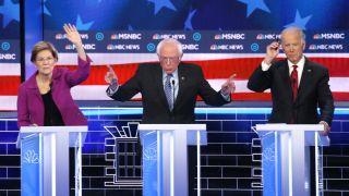 super tuesday will feature moments from Sen. Bernie Sanders, Sen. Elizabeth Warren and former Vice President Joe Biden