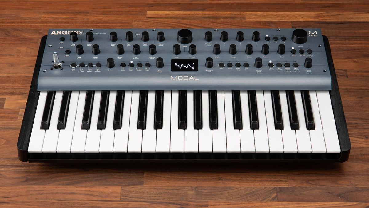 modal electronics argon8 is an affordable wavetable synth with high end heritage musicradar. Black Bedroom Furniture Sets. Home Design Ideas