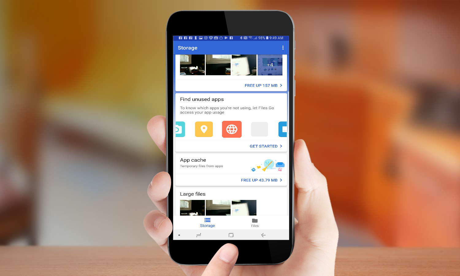How to Use Google's Files Go App to Save Smartphone Space
