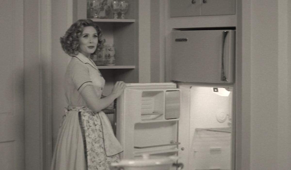 wandavision empty refrigerator