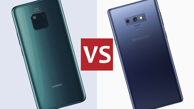 Huawei Mate 20 Pro vs Samsung Galaxy Note 9: the biggest