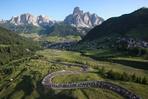 Maratona dles Dolomites 2009