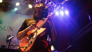 Covet's Yvette Young performs live