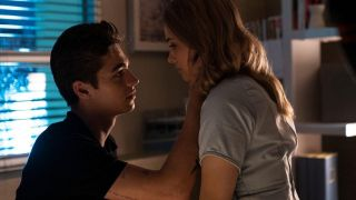 Hero Fiennes Tiffin and Josephine Langford in After We Fell