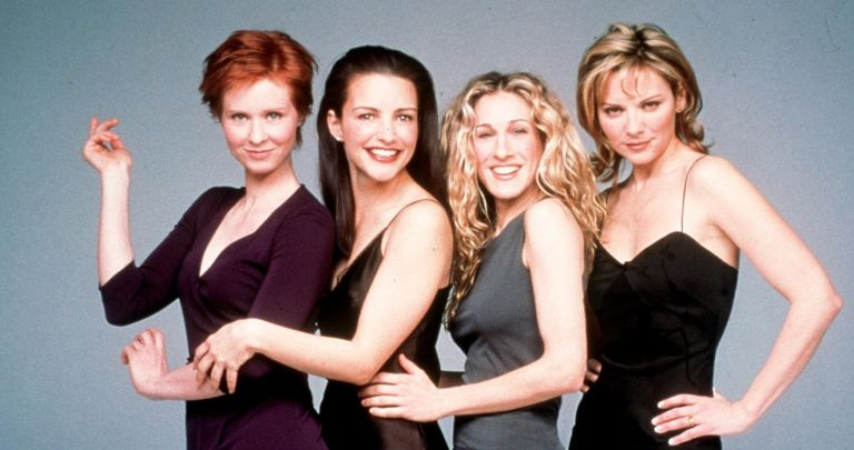 """Sex and the City reboot - The cast of """"Sex And The City,"""" Season 2 Clockwise from top left: Cynthia Nixon, Kristin Davis, Sarah Jessica Parker and Kim Cattrall. 1999 Paramount Pictures"""