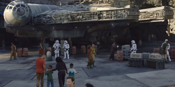 Millennium Falcon at Star Wars; Galaxy's Edge