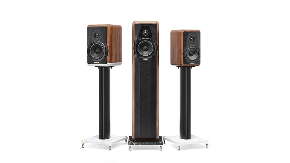 Sonus Faber Maxima Amator are the Heritage Collection's first floorstanders