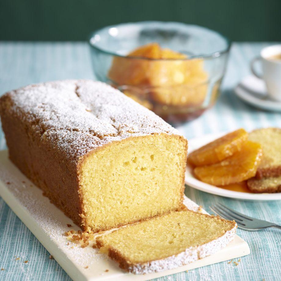 Orange And Almond Loaf Cake Recipe