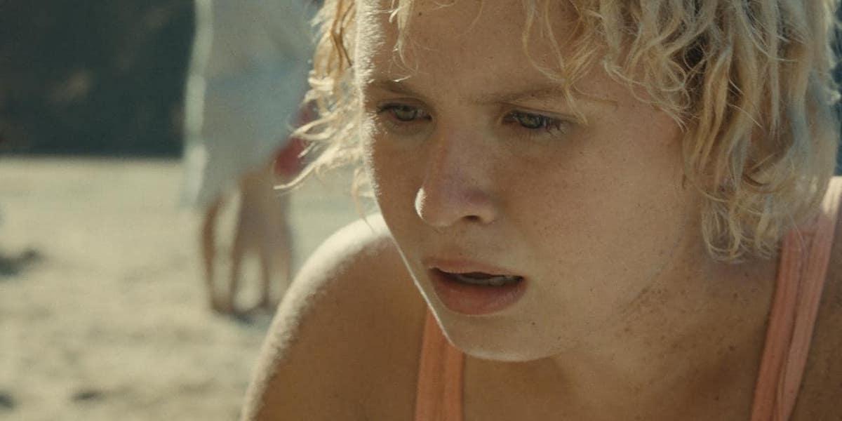 Eliza Scanlen as Kara in Old