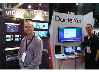 Rapid-Fire InfoComm Product Reviews: Audinate, Video Devices, and Robots