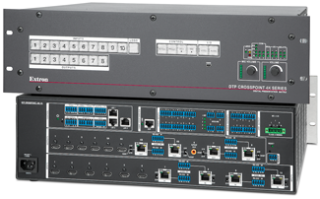 Extron Shipping New CrossPoint 4K Matrix