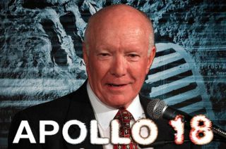 "Former Apollo flight director Gerry Griffin served as technical advisor for the new film ""Apollo 18."""