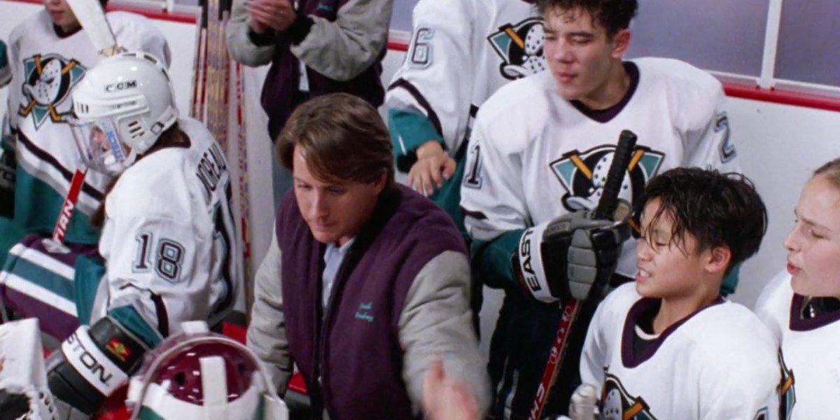 Emilio Estevez in D2: The Mighty Ducks