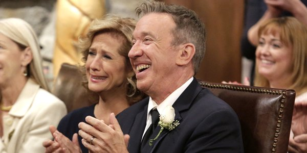 Last Man Standing Season 17 Nancy Travis and Tim Allen Fox