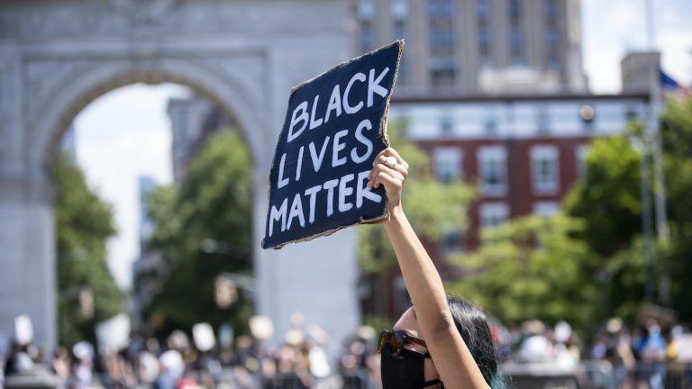 black lives matter protest, juneteenth