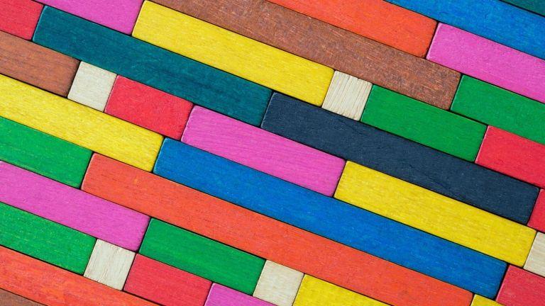 rectangle body shape: multi-colored rectangles