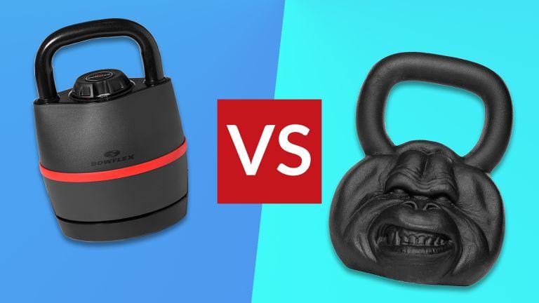 Adjustable vs cast iron kettlebells