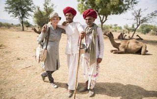 This week Joanna Lumley takes in Mumbai, Rajasthan and the Ellora Caves