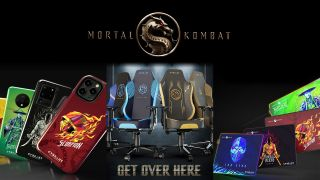 mortal kombat gaming chairs, mouse pads and phone cases
