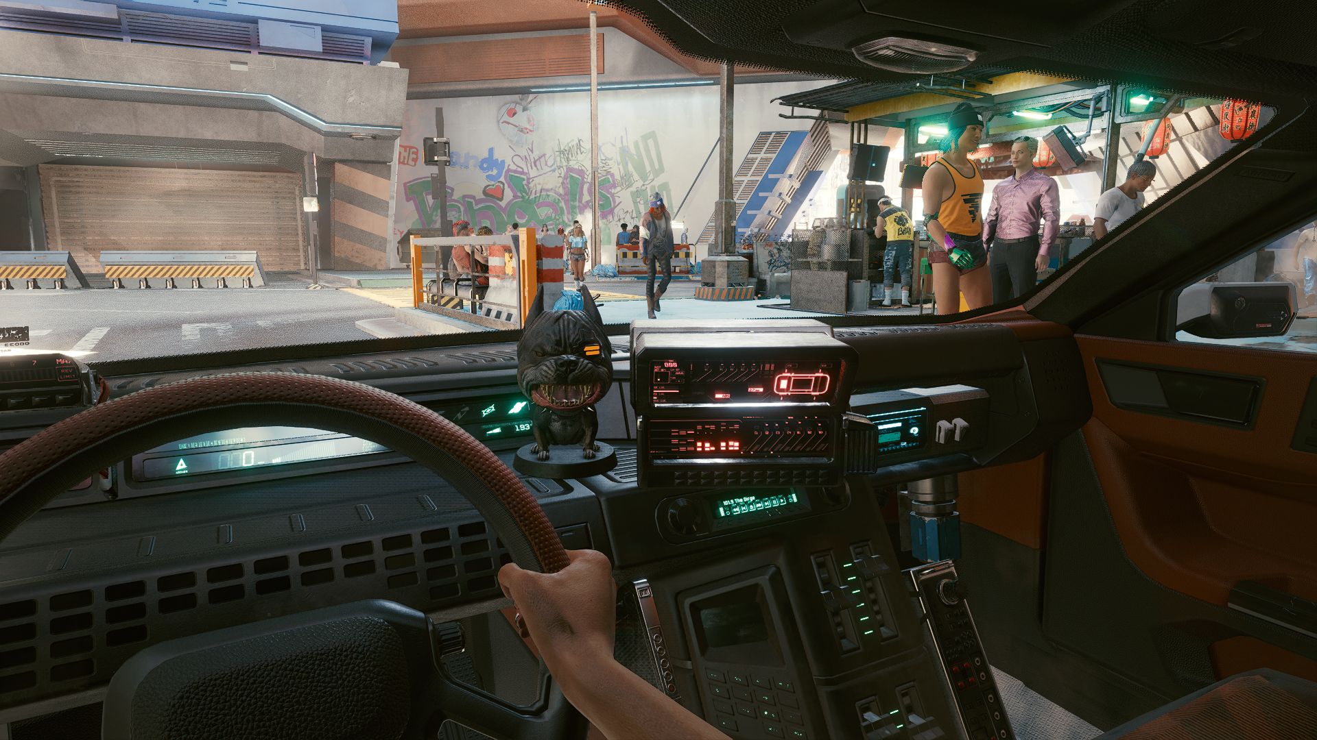 Everything you need to know about Cyberpunk 2077's radio stations