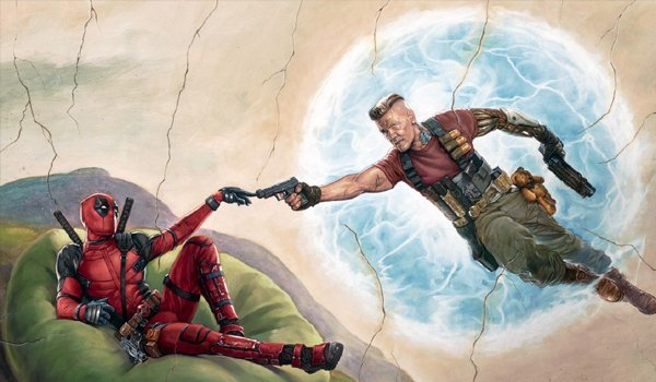 Deadpool Cable Artwork