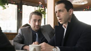 Kieran Culkin and Jeremy Strong in Succession