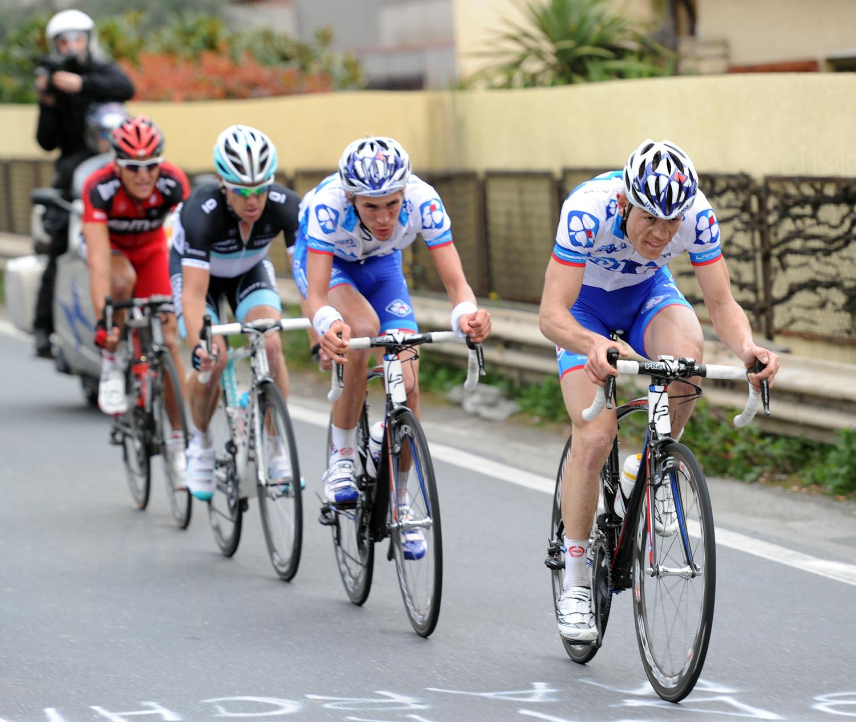 Steve Chainel escape, Milan-San Remo 2011