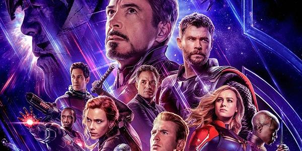 Avengers: Endgame poster shot of the cast