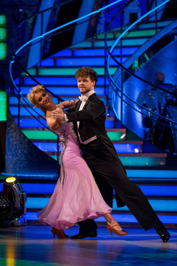 Strictly's Jay McGuiness and Aliona Vilani