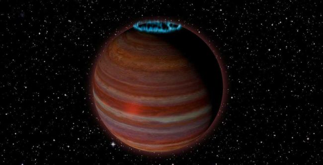 Newly described brown dwarf