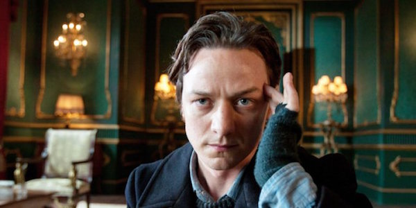 James Mcavoy as a young Professor X in Days of Future Past