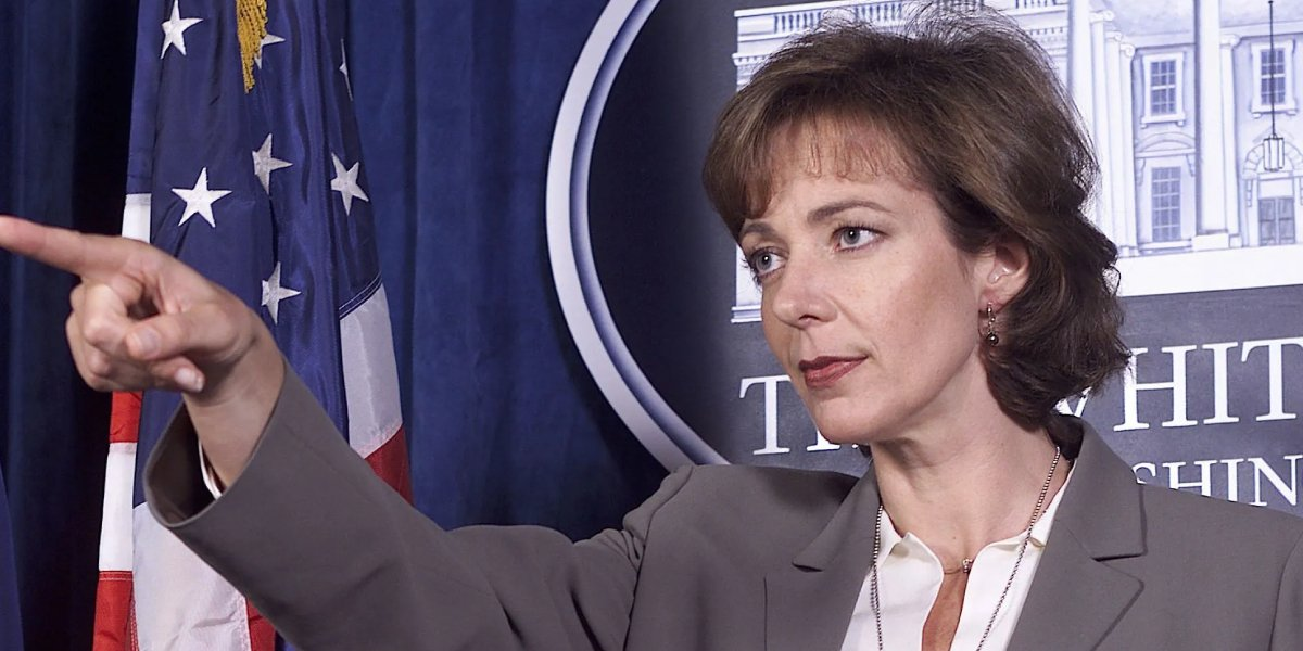 Alison Janney on The West Wing