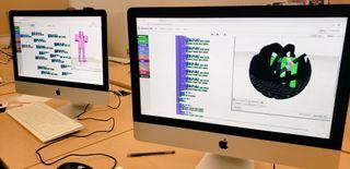 BlocksCad coding