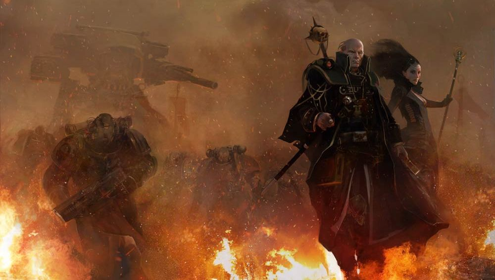 Inquisitor Eisenhorn, from one of the best 40K books