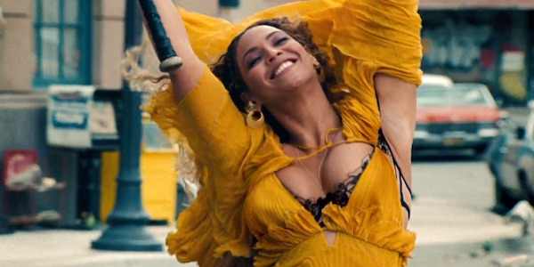 Beyonce in Hold Up from Lemonade