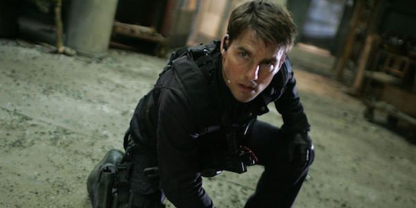 Tom Cruise as Ethan Hunt in Mission: Impossible