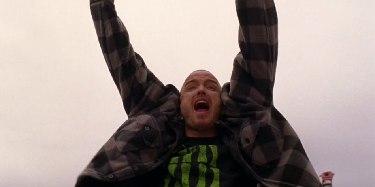 """When Jesse yelled """"Yeah, bitch! Magnets!"""" in Breaking Bad."""