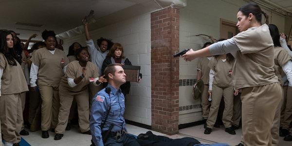 daya holds gun on officer humphrey orange is the new black