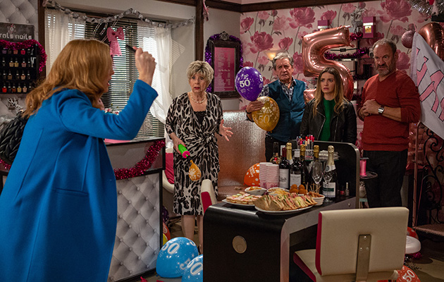 Emmerdale spoilers! Bernice flips as her family throw her a 50th!