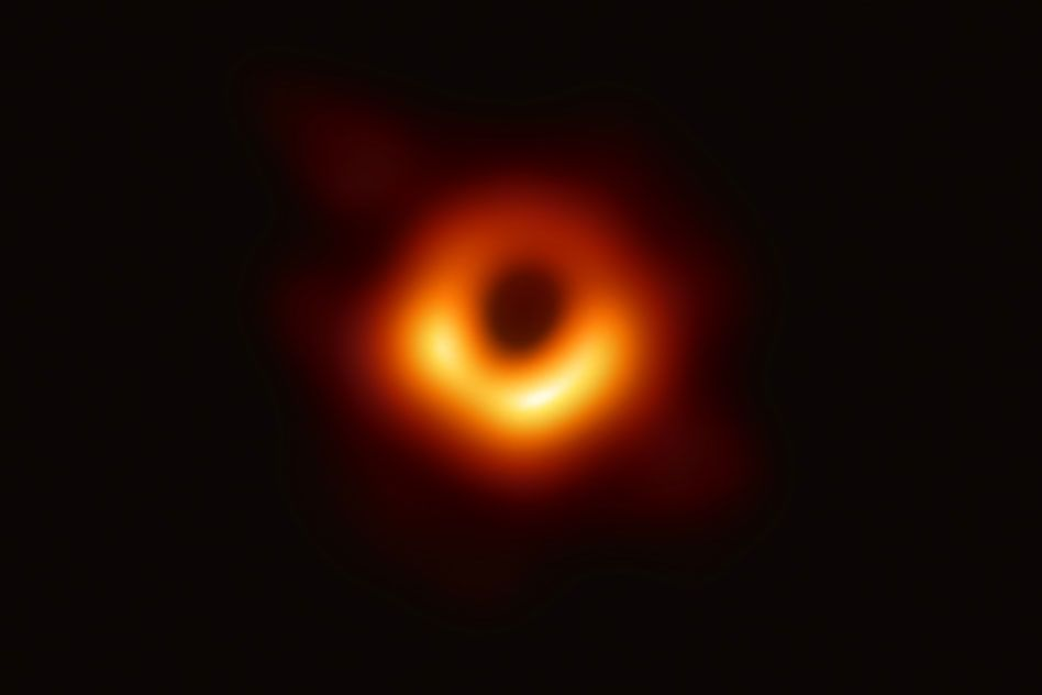 On Early Ed Us Is Light Years Behind >> Eureka Black Hole Photographed For 1st Time Space