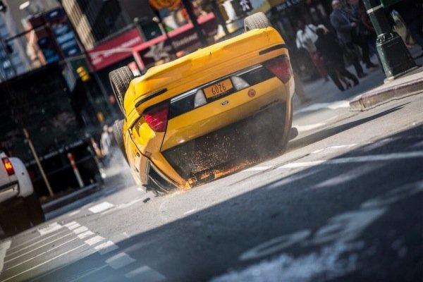 Spider-Man Taxi Flip