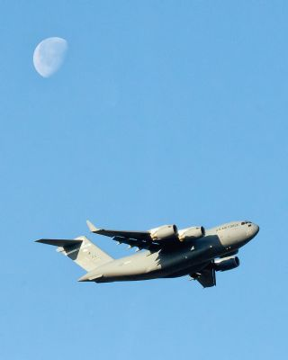 Globemaster Soars Over Japan in Landmark Flight (Photo)