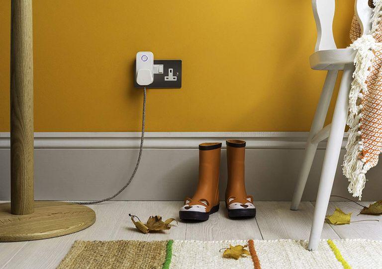 Smart plug deals: Hive Active Smart Plug lifestyle image in hallway