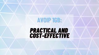 AVoIP 1Gb: Practical and Cost-Effective