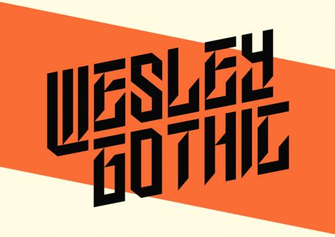Wesley Gothic written in Wesley Gothic