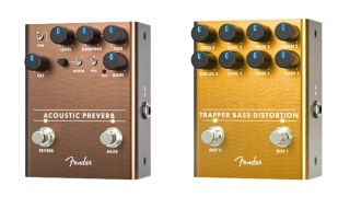 Fender Acoustic Preverb and Trapper Bass Distortion