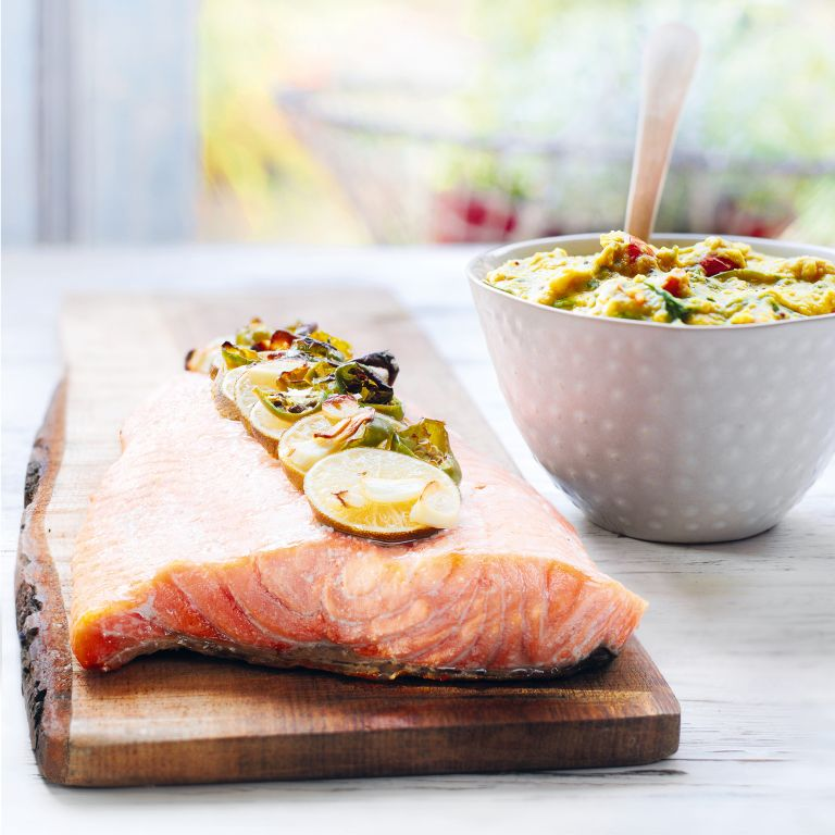 Spiced Indian Salmon