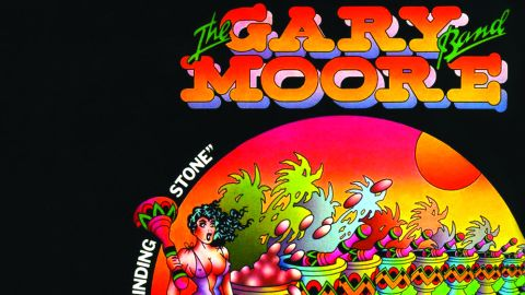 Cover art for The Gary Moore Band - Grinding Stone album